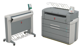 Ocè TDS750 Blueprint Equipment